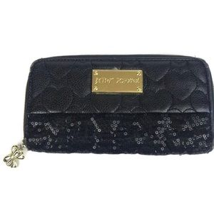 Betsey Johnson's Sequin Wallet